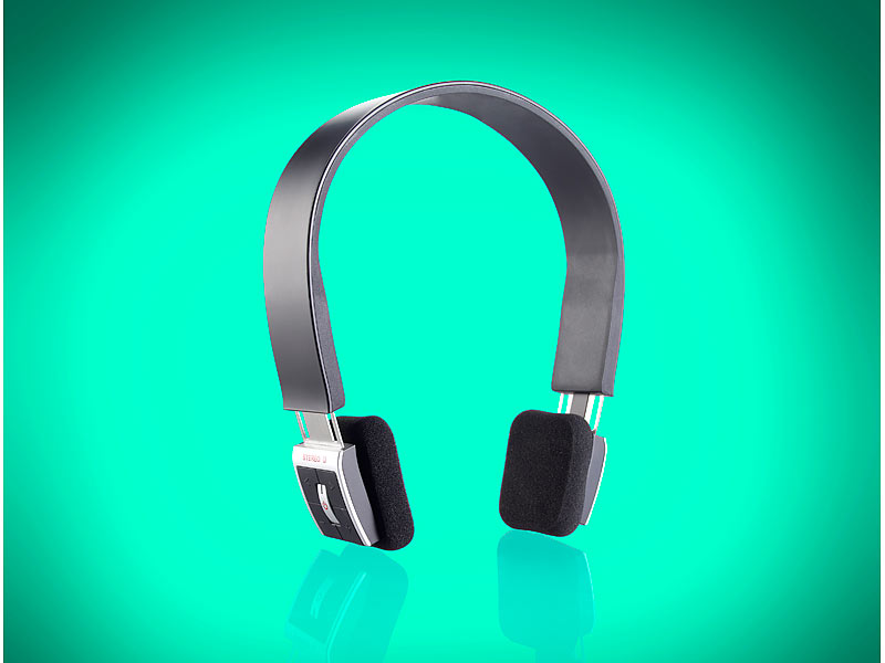 callstel stereo bluetooth headset schwarz. Black Bedroom Furniture Sets. Home Design Ideas