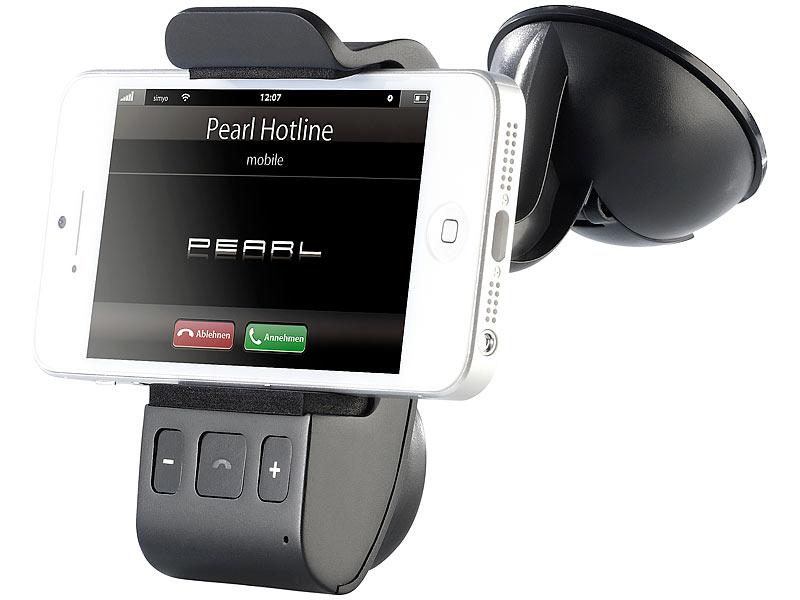 callstel freisprecher bfx 40 h mit bluetooth und halterung f r smartphones. Black Bedroom Furniture Sets. Home Design Ideas