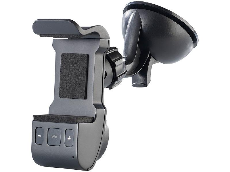 callstel freisprecher mit bluetooth halterung f r smartphones bfx40 h ref. Black Bedroom Furniture Sets. Home Design Ideas