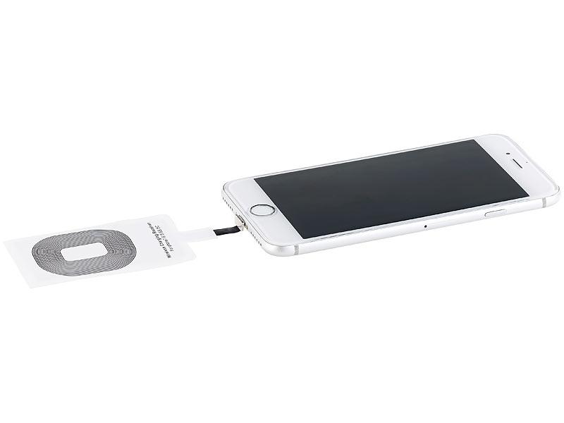 callstel receiver pad f r iphone 5c 5s 6 6s 6s plus 7 7s 7 plus se. Black Bedroom Furniture Sets. Home Design Ideas