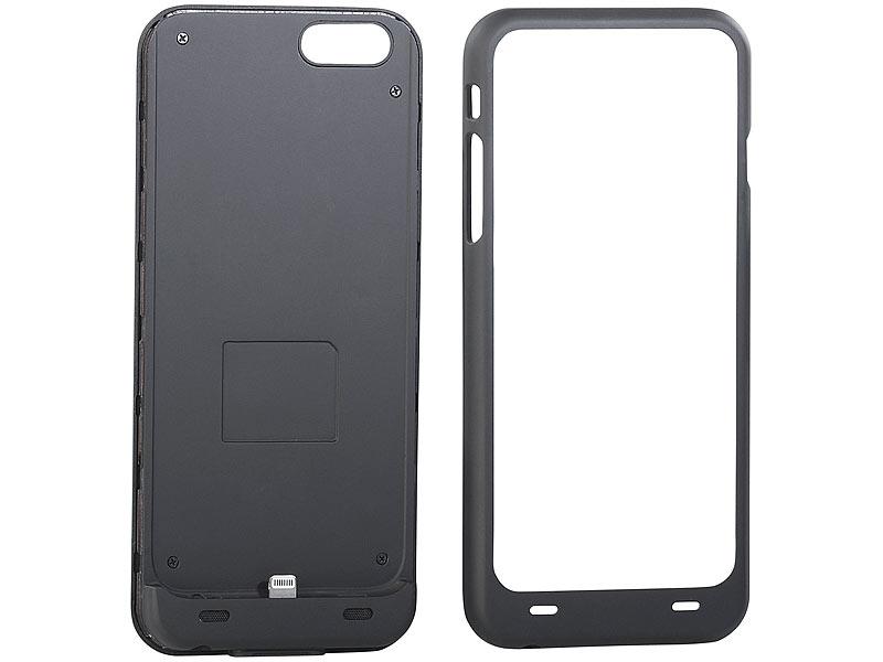 callstel schutzcover mit 2800 mah akku iphone 6 s apple. Black Bedroom Furniture Sets. Home Design Ideas