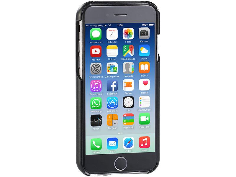 callstel schutzh lle f r iphone 6 plus und 6s plus schwarz. Black Bedroom Furniture Sets. Home Design Ideas