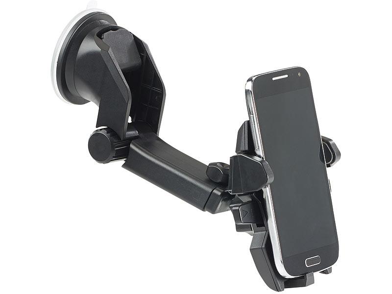 Callstel kfz smartphone armaturenbrett halterung 360° teleskop one