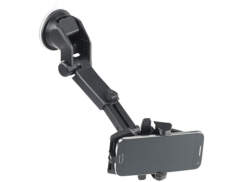 Callstel kfz smartphone armaturenbrett halterung ° teleskop