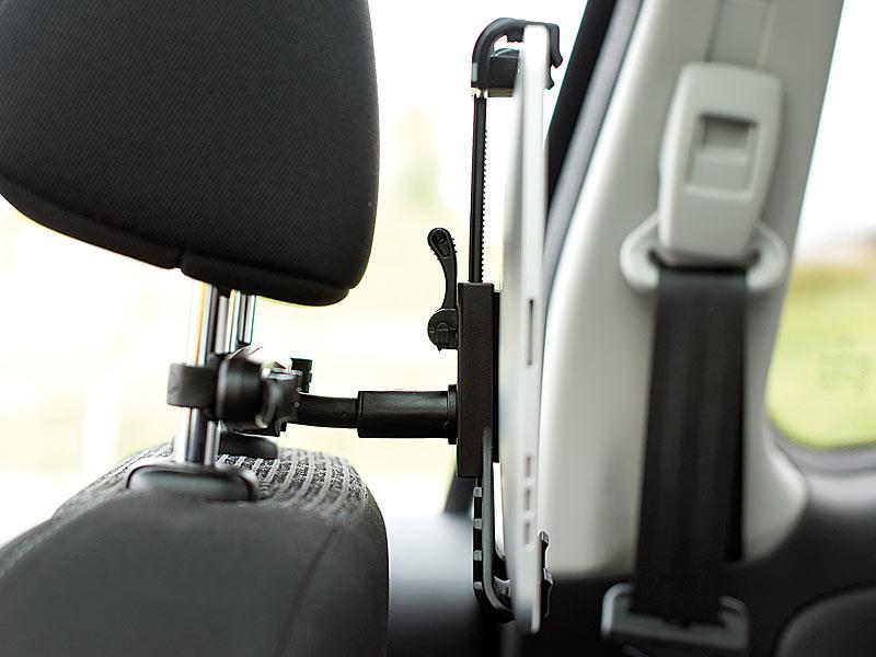 Ipad Halterung Auto Kopfstütze : callstel universelle kfz kopfst tzen halterung f r ipad ~ Watch28wear.com Haus und Dekorationen