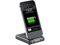 Callstel Mobile Powerbank-Dockingstation 2000 mAh für iPod/iPhone