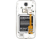 Callstel Dual-SIM-Adapter mit passgenauem Samsung Galaxy S4 Back-Cover
