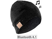 Callstel Beanie-Mütze inkl. integriertem Headset m.Bluetooth, FM-Radio, schwarz; In-Ear-Mono-Headsets mit Bluetooth In-Ear-Mono-Headsets mit Bluetooth In-Ear-Mono-Headsets mit Bluetooth In-Ear-Mono-Headsets mit Bluetooth