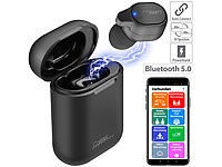 Callstel 2in1-Live-Übersetzer und In-Ear-Mono-Headset mit Powerbank-Box & App; In-Ear-Mono-Headsets mit Bluetooth In-Ear-Mono-Headsets mit Bluetooth In-Ear-Mono-Headsets mit Bluetooth In-Ear-Mono-Headsets mit Bluetooth