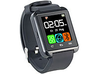 Callstel Freisprech-Smartwatch SW-100.tch, Bluetooth 3.0 + EDR (refurbished)