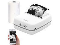 Callstel Mobiler Akku-Foto-Thermodrucker, Android & iOS, Bluetooth, App, 57 mm