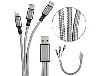 ; Micro-USB-Kabel, verdrehsicher Micro-USB-Kabel, verdrehsicher Micro-USB-Kabel, verdrehsicher